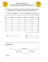 Referee Reimbursement Form